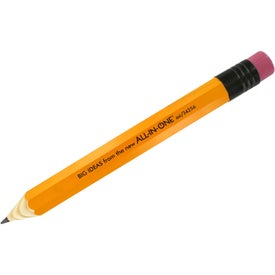 Giant Wood Pencil for Advertising
