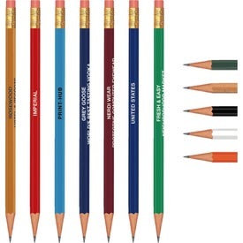 Hex Pencil (Hot Stamp)