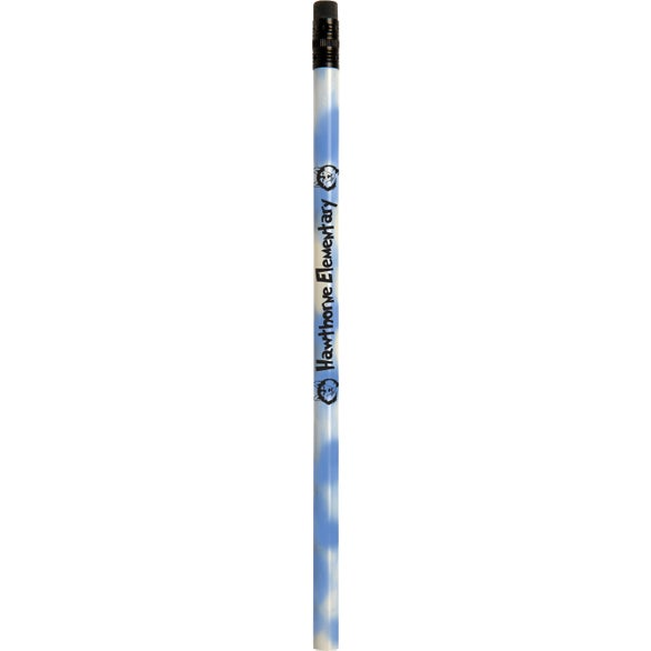 Blue to White Jo Bee Mood Pencil with Eraser