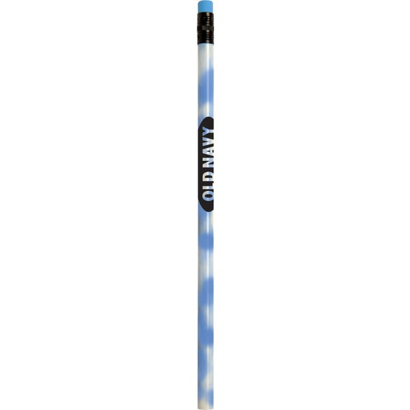 Blue to White Jo Bee Recycled Mood Pencil with Matching Eraser