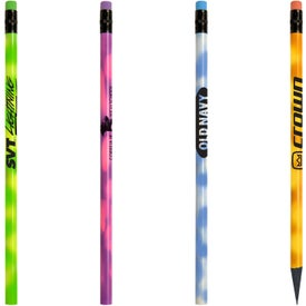 Jo-Bee Recycled Mood Pencil with Matching Eraser Printed with Your Logo