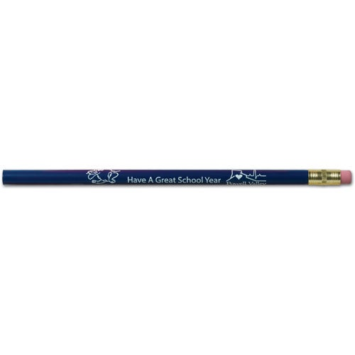 Royal Blue Jumbo Pencil with Eraser