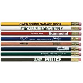 Company Jumbo Pencil with Eraser