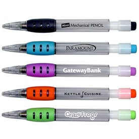 Mini Refillable Mechanical Pencils with Rubber Grip