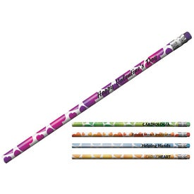 Mood Heart Pencil with Your Logo