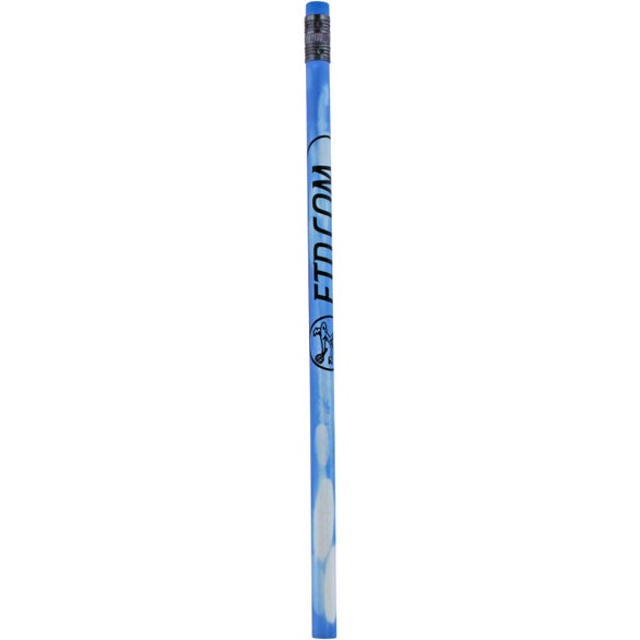 Dark Blue to Light Blue Mood Color Changing Pencil with Colored Eraser