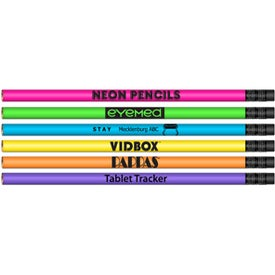 Neon Barrel Lead Pencil