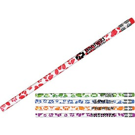 Paw Print Mood Pencil Branded with Your Logo