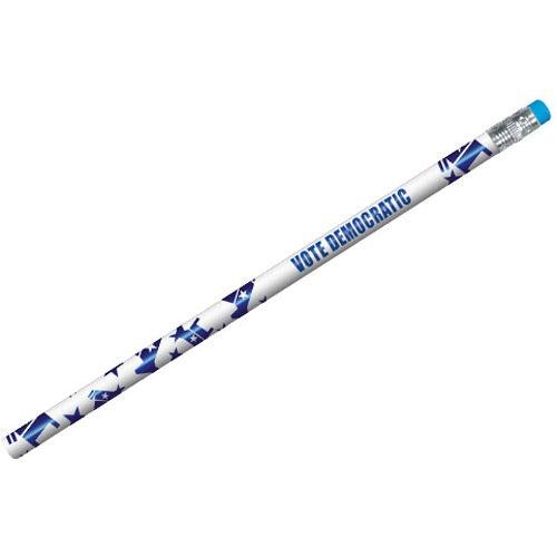 Political Foil Pencil (Democrat)