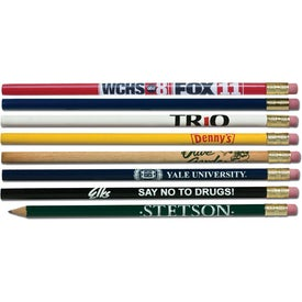 Imprinted Promotional Round Pencil