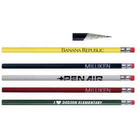 Personalized Recycled Paper Pencil Imprinted with Your Logo
