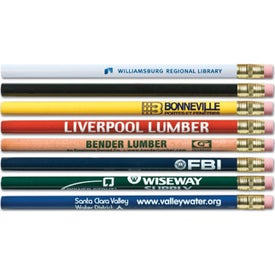 Logo Super Jumbo Pencil With Eraser