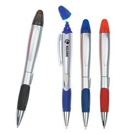 2-in-1 Pen Highlighter