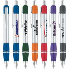 2-Tone Grip Ballpoint Pen