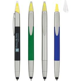 3-in-1 Pen/Highlighter/Stylus