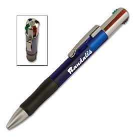 4 Color Plastic Pen