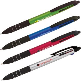 Plastic 4-in-1 Ballpoint Pen