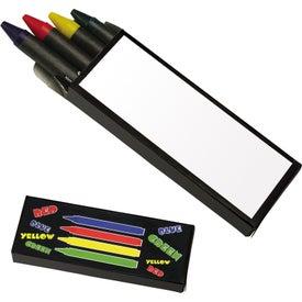 Advertising 4-Piece Crayon Set