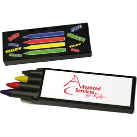 4-Piece Crayon Set