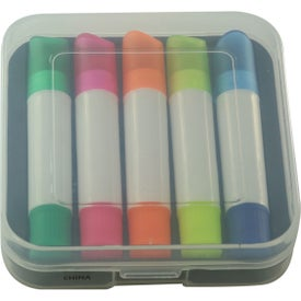 Company Set Of 5 Wax Highlighters