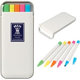 5 In 1 Highlighter Set for Your Company