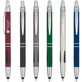 Aluminum Pen With Stylus