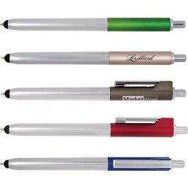 Ambient Metallic Click Duo Pen Stylus
