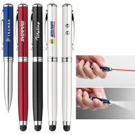 Atlas Laser Stylus and Flashlight Pen