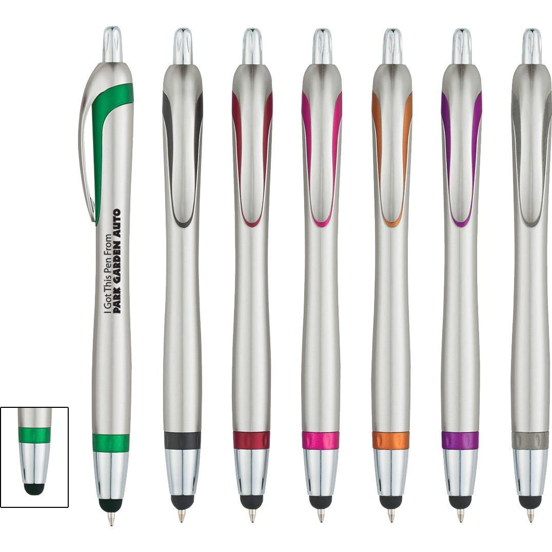 promotional ava stylus pens with custom logo for 0 415 ea