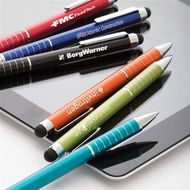 Axis Ballpoint Stylus Pen with Your Logo