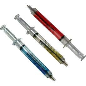 Ballpoint Clicker Syringe Pens