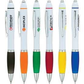 Ballpoint Pen and LED Light