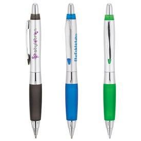 Silver Metallic Ballpoint Pen