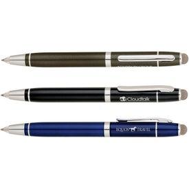 Ballpoint Pen Stylus And LED Light