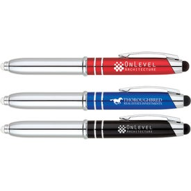 Ballpoint Pen Stylus LED Light