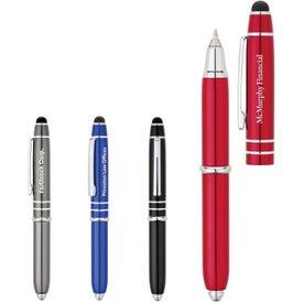 Ballpoint Pen Stylus with LED Light