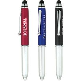 Ballpoint Stylus Pen and LED Light