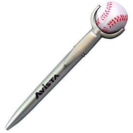 Baseball Stress Reliever Top Pen