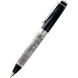 Custom World Map Design Bettoni Ballpoint Pen