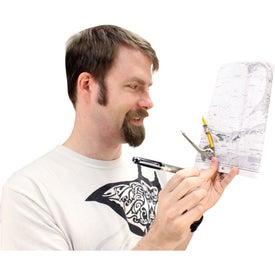 World Map Design Bettoni Ballpoint Pen for Customization