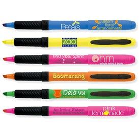 BIC Brite Liner Grip 5 Pack Pen