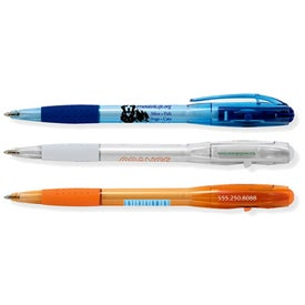 BIC Bu2 Clear Grip Pen