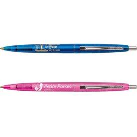 Promotional BIC Clear Clics Pen