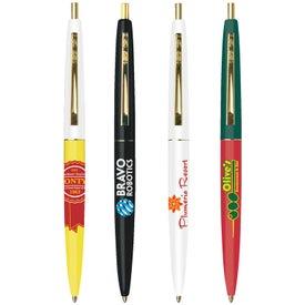 Bic Clic Pen (Gold)