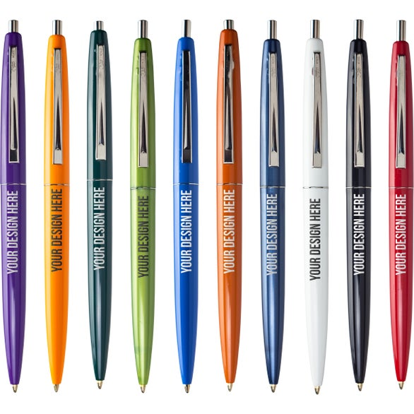 promotional bic round stic pens with custom logo for 0 28 ea