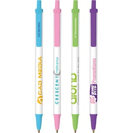 BIC Clic Stic Fashion Pen Imprinted with Your Logo