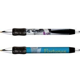 Custom BIC Digital Wide Body Chrome Grip Pen