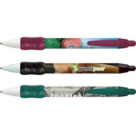 Customized BIC Digital WideBody Color Grip Pen