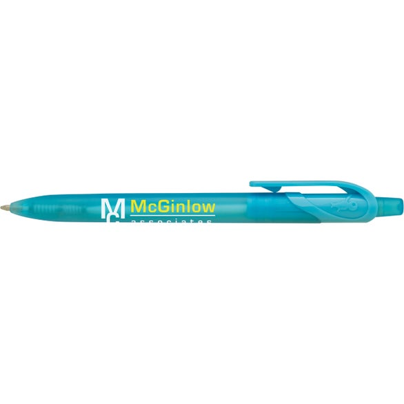 Turquoise BIC Honor Clear Pen