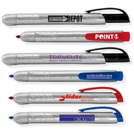 BIC Mark It Retractable Permanent Marker Pen